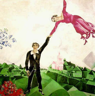 M.Chagall, La Passeggiata (1917/18)