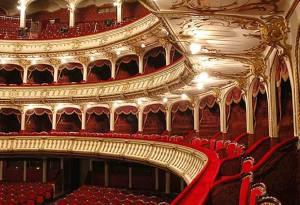 Opera di Cluj - interno