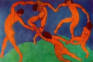matisse - hermitage - Dance (II) -1910