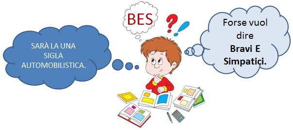 Bambino con BES