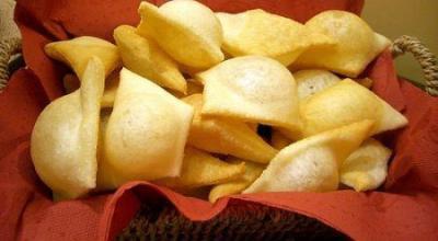 gnocco fritto cestino