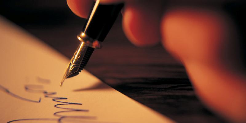 scrivere il tema