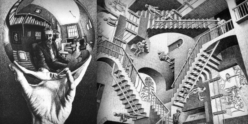 Escher-mostra-chiostro-bramante