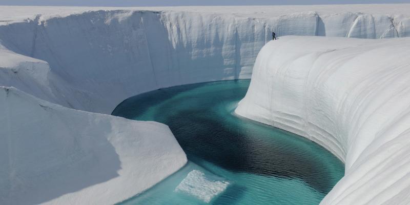 Birthday Canyon, Greenland ice sheet
