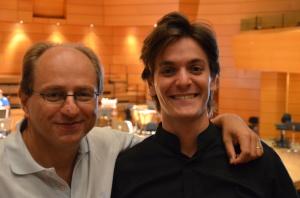 Con il M° Daniele Agiman