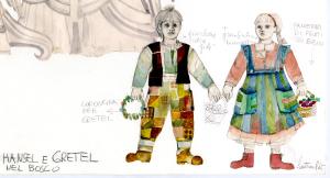 Hänsel e Gretel nel bosco[003] figurino di Santuzza Calì