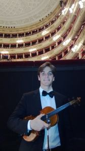 Violino in scala
