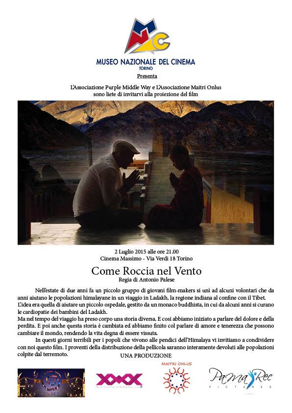 COMUNICATO COME ROCCIA NEL VENTO Cinema Massimo