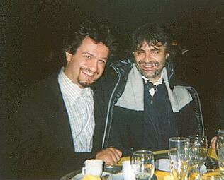 Max Fichera e Bocelli