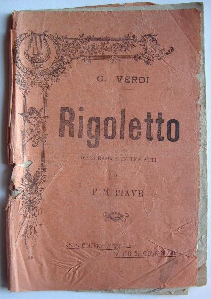 libretto opera rigoletto