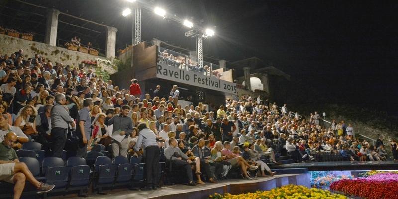 Ravello Festival - tribuna