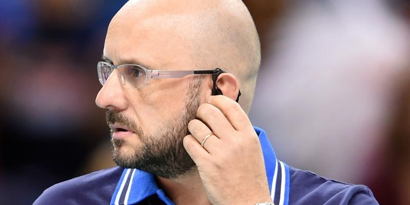 Italy coach Mauro Berruto