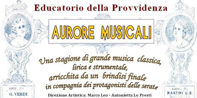 AURORE MUSICALI
