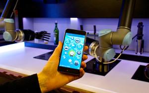 App smartphone Moley Robotics
