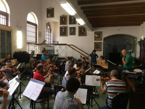 The Fairy Queen - prove al Conservatorio di Napoli 1