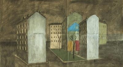 Paolo Ventura Piazza Irnerio
