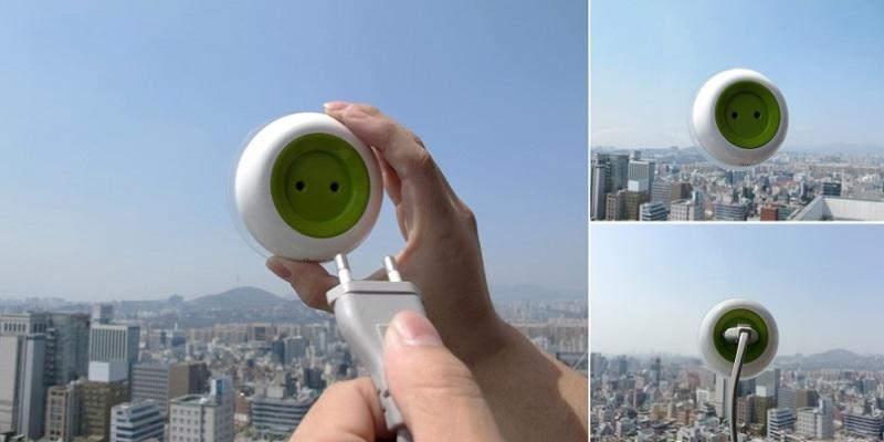 Lu0027idea Arriva Da Due Studenti Dellu0027Istituto Samsung Art U0026 Design Di Seoul,  Kyuho Song E Boa Oh, Che Hanno Realizzato Una Presa Portatile Che Sfrutta  La Luce ...