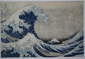 Katsushika Hokusai, La Grande onda a largo di Kanagawa