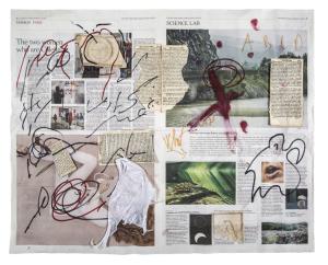 Adonis Marco Nereo Rotelli, 4 marzo 2017, collage a quattro mani 4