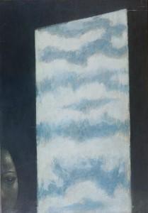 TOMALINO Nuvole nel quadro finestra