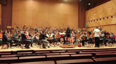 sipari in prova con orchestra qatar