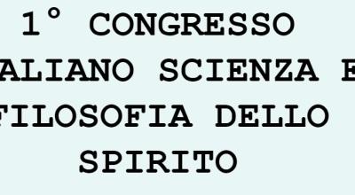 1congresso.Scienza.Filosofia.dello.Spirito