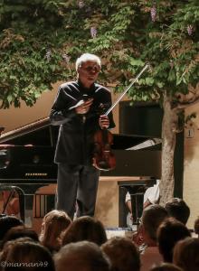 Uto Ughi parla al pubblico, Cervo Festival