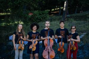 Uno dei quartetti del corso internazionale 2017