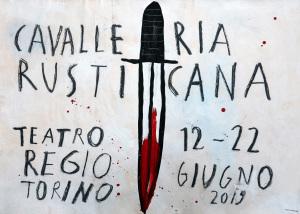 Cavalleria rusticana (locandina di Paolo Ventura) HD
