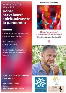 Presentazione_Come cavalcare spiritualmente la pandemia_Torino_locandina